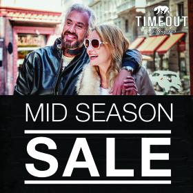 """Picture: TIMEOUT стартира  """"MID SEASON SALE""""  на определени модели от колекция Есен-Зима 2019"""