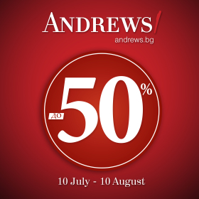 Picture: ANDREWS/ UP TO 50%