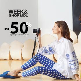 Снимка: Всичко на 50% в Week&Shop MD на Колекция пролет/лято 2020!